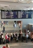 Салон отклонений авиапорта Стоковое Изображение