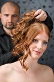 салон парикмахера роскошный профессиональный стоковое фото