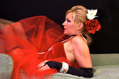 салон профиля девушки Стоковая Фотография RF