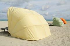 салон стулов пляжа южный Стоковые Изображения RF