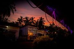 Салон татуировки в Goa стоковые фотографии rf