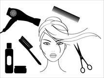 салон hairdressing Стоковая Фотография RF