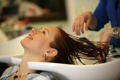 салон hairdressing стоковое изображение