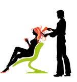Салон Hairdressing Стоковое Изображение RF
