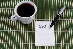 салфетка идеи Стоковое Фото