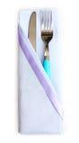 салфетка cutlery Стоковые Изображения RF