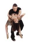 сальса танцы стоковые фотографии rf