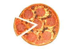салями пиццы Стоковое Изображение RF