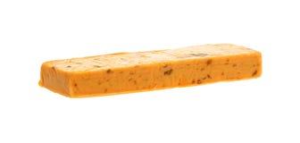 салями сыра чеддера блока обрабатываемое Стоковые Фотографии RF