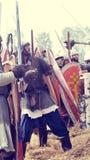 Самара, Россия, фестиваль исторического Стоковое Изображение