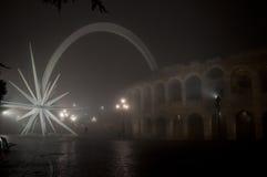 Самая большая аркада в Вероне Стоковая Фотография