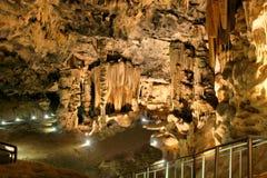 Самая большая камера пещеры Cango стоковое изображение rf