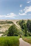 Самая высокая дюна на curonian вертеле стоковое фото rf