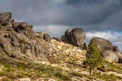 Самая высокорослая гора в Португалии Стоковое Изображение RF