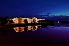 Самая короткая ноча в Jelgava стоковые изображения rf