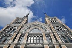 Самая красивая католическая церковь, pr Chanthaburi Стоковые Фото