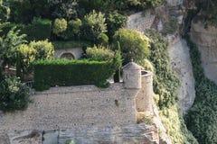 Самая лучшая историческая архитектура Франции gordes стоковое фото rf