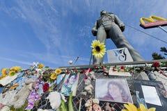 самая лучшая статуя Нидерландов jackson michael Стоковые Изображения RF