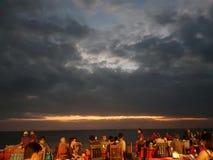 самая памятная партия в пляже стоковое изображение rf