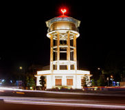 Самая старая водонапорная башня в городе Ria ба - Вьетнаме Стоковое Изображение