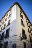 Самая старая улица в столице Испании, городе Мадрида, своем a Стоковое Изображение RF