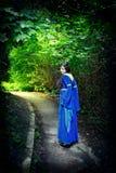 самая темная прогулка princess пущи Стоковое Фото