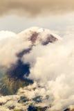 Саммит вулкана Tungurahua стоковая фотография
