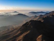 Саммит горы Синай Стоковые Фотографии RF