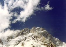 саммит горы Стоковые Изображения