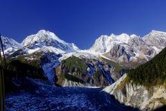 Саммит горы Ga гонга Стоковые Изображения RF