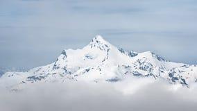 Саммит ряда Stavler Кавказ Взгляд от Mount Elbrus стоковое фото