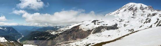 Саммит Mount Rainier, Вашингтон, США Стоковые Фотографии RF