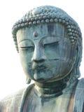 самое большое законоположение Будды головное напольное Стоковые Фото