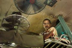 Самое дешевое перемещение поезда в безоговорочном общем классе в Индии Стоковые Изображения