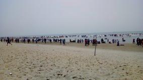 самое длинное cox& x27 пляжа моря; благотворительный базар s стоковое фото
