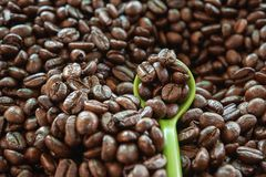 Самое лучшее кофейное зерно жаркого стоковая фотография rf