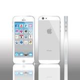 iPhone 5 Яблока иллюстрация вектора