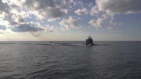 Самое новое ssn Минесоты подводной лодки класса Вирджинии акции видеоматериалы