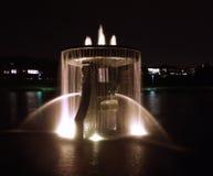 самое сердце стороны waterfountian Стоковые Изображения RF