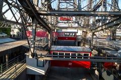 Самое старое колесо Ferris Европы в парке Prater Стоковое Фото