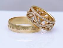 Самое лучшее обручальное кольцо Стоковая Фотография