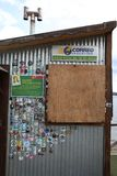 Самое южное почтовое отделение мира в Ushuaia ареальных стоковое фото rf