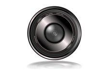 самой лучшей изолированное камерой качество объектива Стоковое Фото