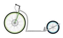Самокат велосипеда пинком Стоковая Фотография RF