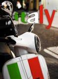 Самокат символа Италии Стоковые Изображения