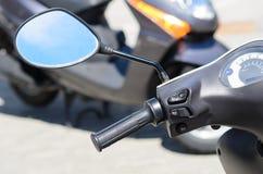 самокат handlebar Стоковое фото RF