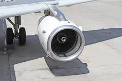 Самолетный двигатель Стоковая Фотография RF