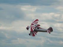 самолет-биплан Стоковые Изображения