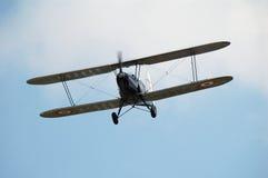самолет-биплан Стоковые Фотографии RF
