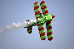 самолет-биплан Стоковая Фотография RF